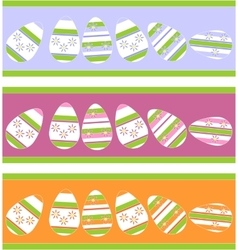 Holiday gift egg in color 12 vector