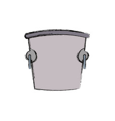 ice bucket icon vector image