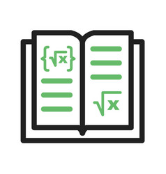 Math book i vector