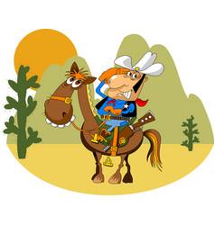 Merry sheriff vector