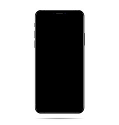 new phone drawing eps10 format isolated on white vector image vector image