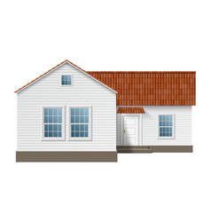 town house vector image