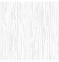 White wooden texture vector image