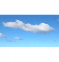 one cloud vector image vector image