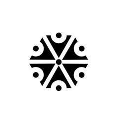 symbol of the god perun slavic mythology the god vector image vector image