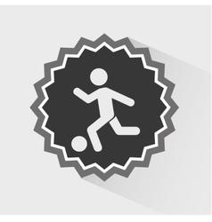 training icon vector image
