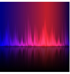abstract equalizer background blue-purple wave vector image