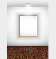 elegant showroom vector image vector image