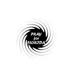 Irma hurricane symbol natural disaster tornado vector