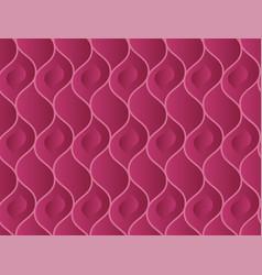 abstract wavy vinous elegant seamless pattern vector image