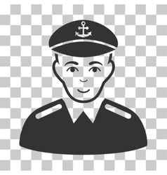 Captain Icon vector