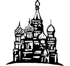 Kremlin Russia vector