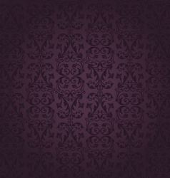 Seamless rich background in Renaissance style vector