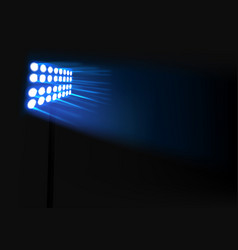 wall of lights background vector image