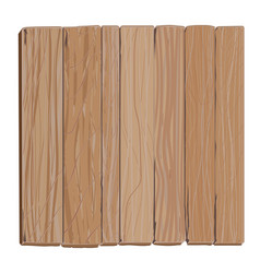 Wooden board cartoon vector
