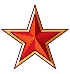 Soviet star vector image
