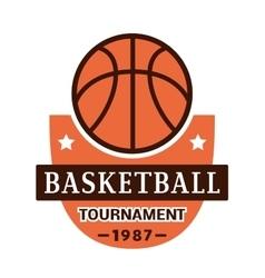 Sport team badge logo vector image