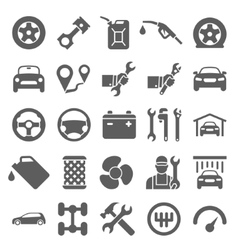 Car service maintenance icon vector image vector image