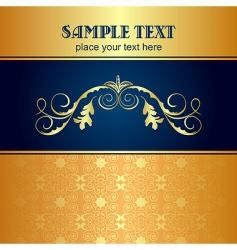 luxury background vector image vector image