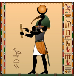 Thoth vector image vector image