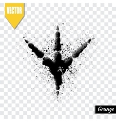 Trail birds vector image vector image