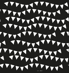 black monochrome seamless patterns geometric vector image