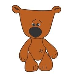 cartoon character bear vector image