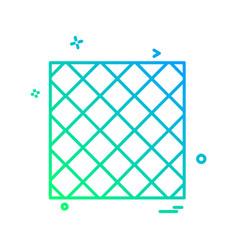 check design icon vector image