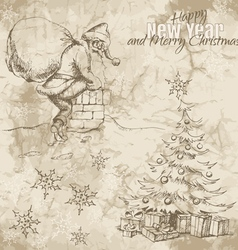 ChristmasSketch vector image