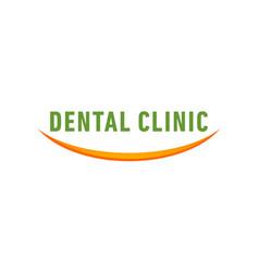 Dental smile vector