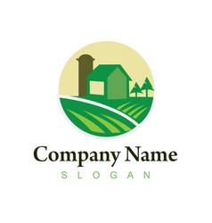 Farm logo 3 vector