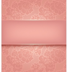 Floral ornamental background vector