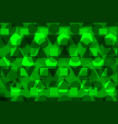 geometric background - green vector image