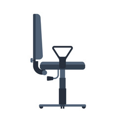 office armchair isolated chair for working at vector image