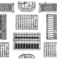 Pattern with different abacus vector