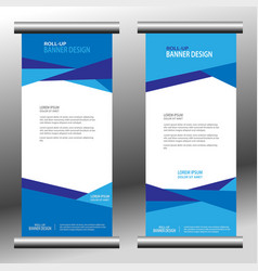 roll up web banner 031 vector image