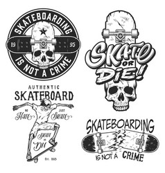 Set of emblems vector