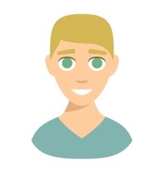 Smiling boy vector image