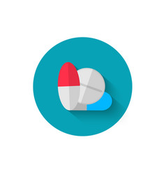 tablets icon in flat design style vector image