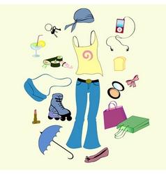 urban lifestyle vector image