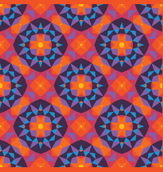 abstract geometric background seamless pattern vector image