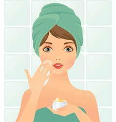Beautician vector