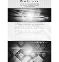 Dark tech business design vector image