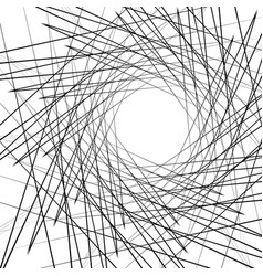 Dynamic irregular geometric lines rough edgy vector