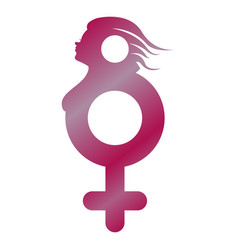 female gender symbol vector image