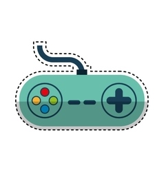 Game control gadget icon vector