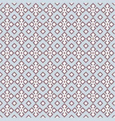 Geometrical lace in blue and dusty pink vector