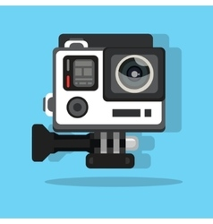 High definition photo video go camera pro action vector