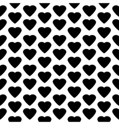 Love heart seamless pattern vector image