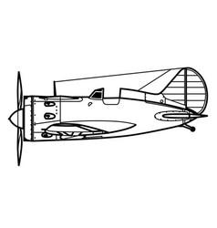 Polikarpov i-16 vector